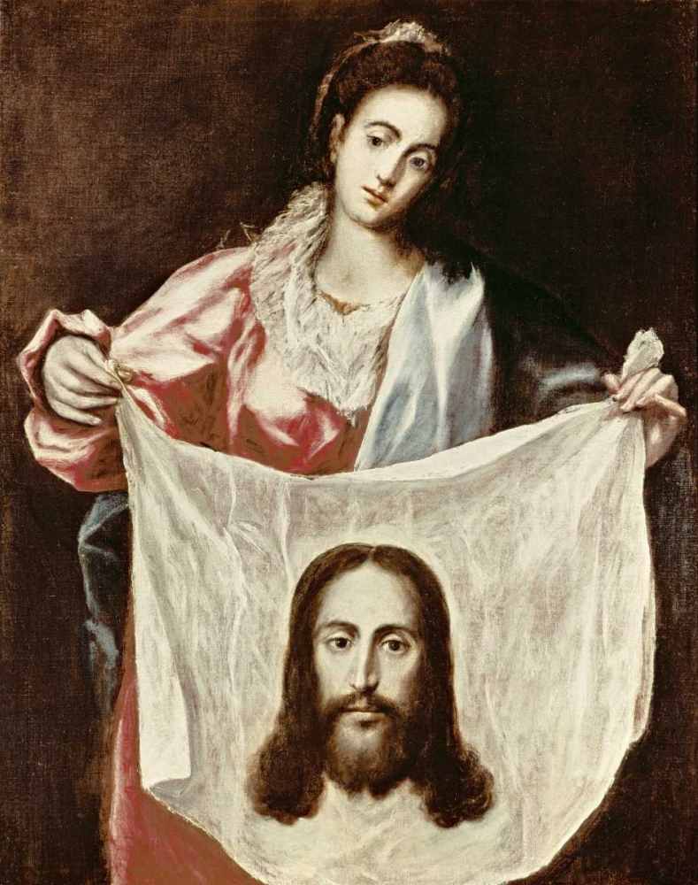 Veronica and The Holy Veil El Greco 91004
