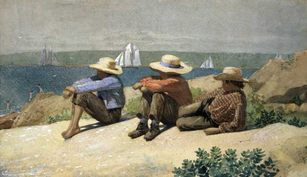 On the Beach Homer, Winslow 91173