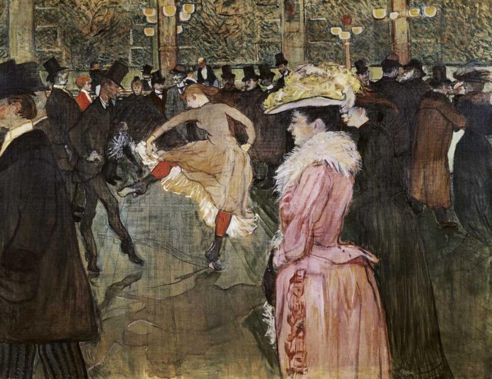 At the Moulin Rouge: The Dance Toulouse-Lautrec, Henri 91199