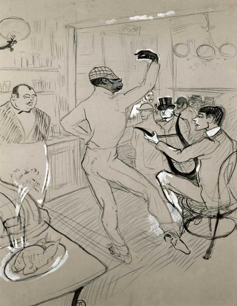 Chocolat Dansant Toulouse-Lautrec, Henri 91201