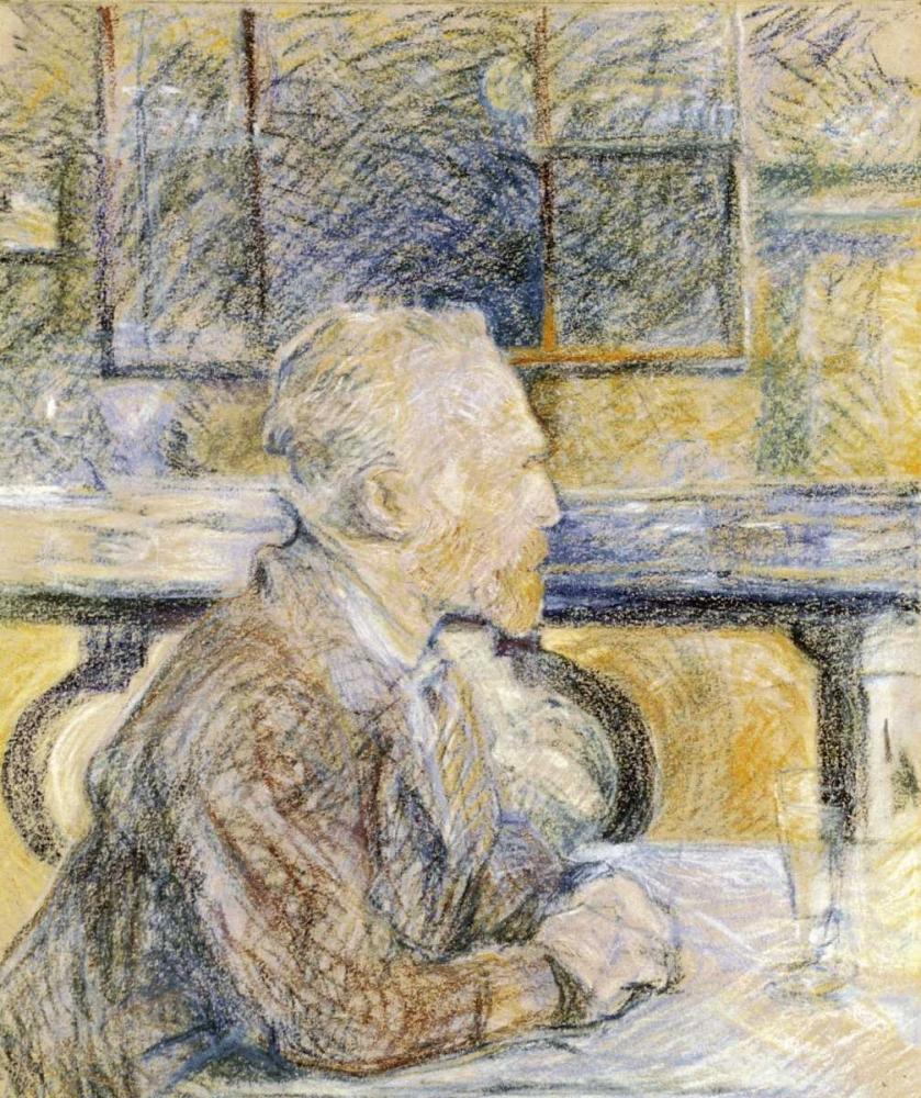 Portrait of Van Gogh Toulouse-Lautrec, Henri 91211