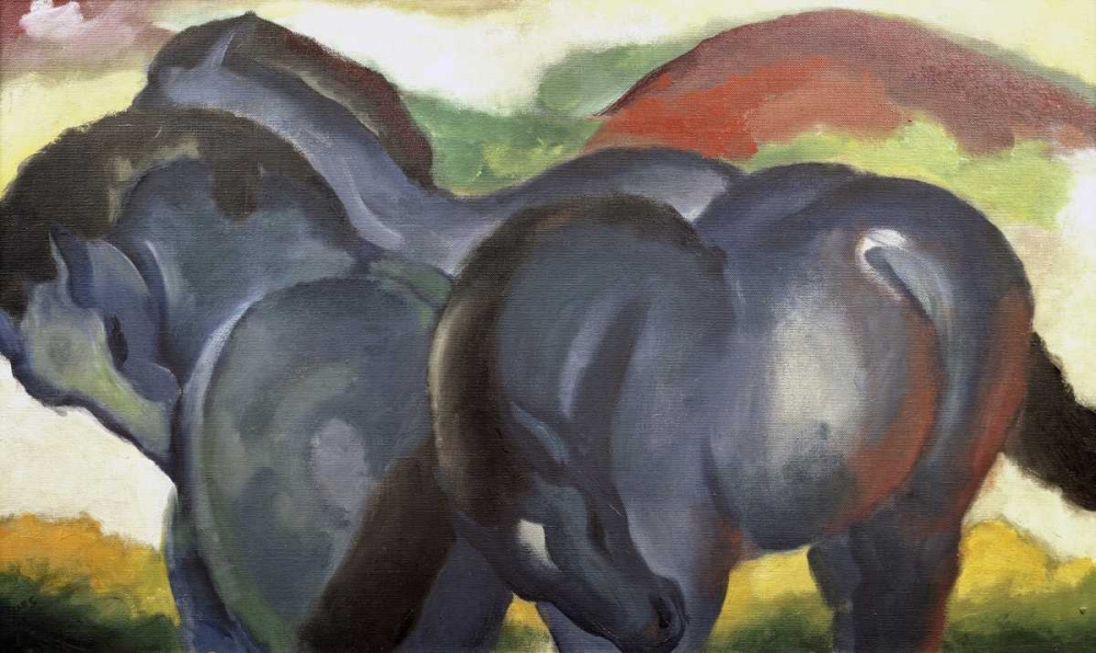 Little Blue Horses Marc, Franz 91262