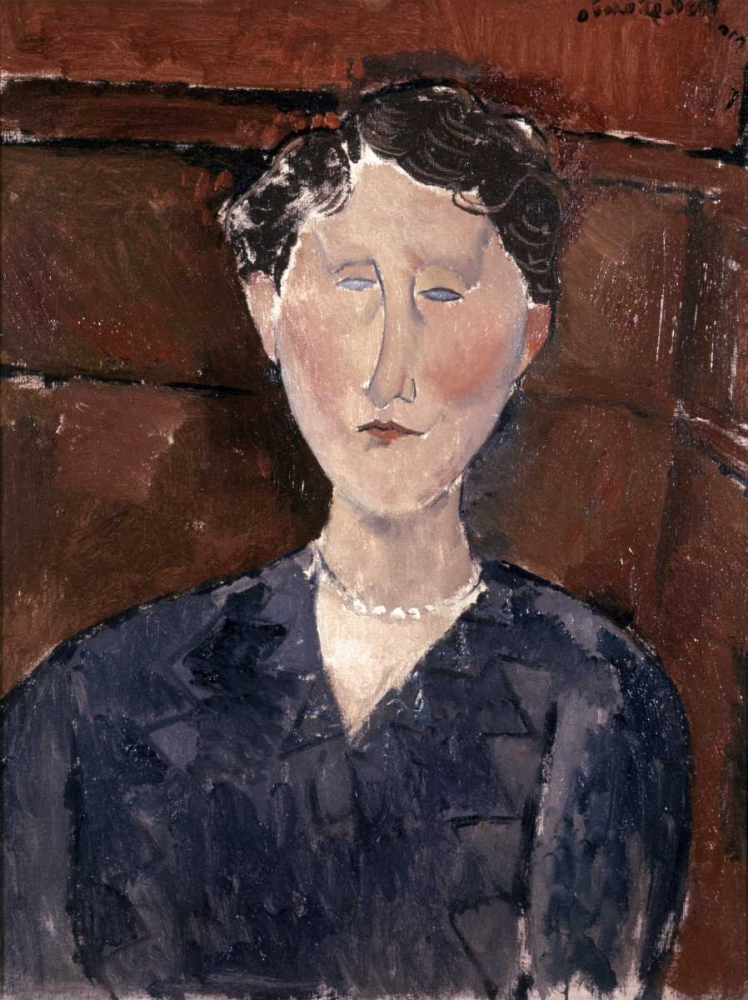 Head of Woman Modigliani, Amedeo 91294