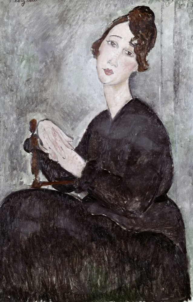 Portrait of Madame Mayden Modigliani, Amedeo 91301