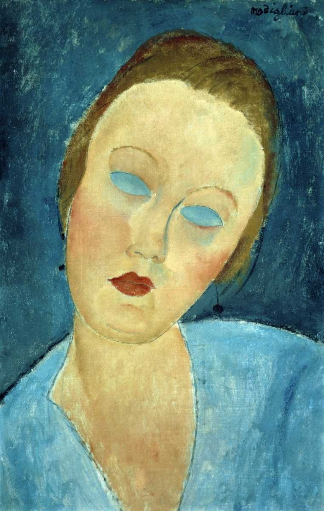 Portrait of Madame Survage Modigliani, Amedeo 91302