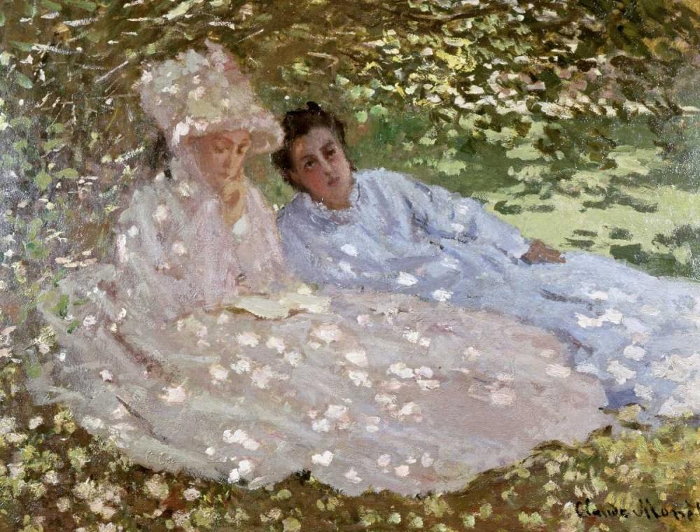 Madame Monet in the Garden Monet, Claude 91335