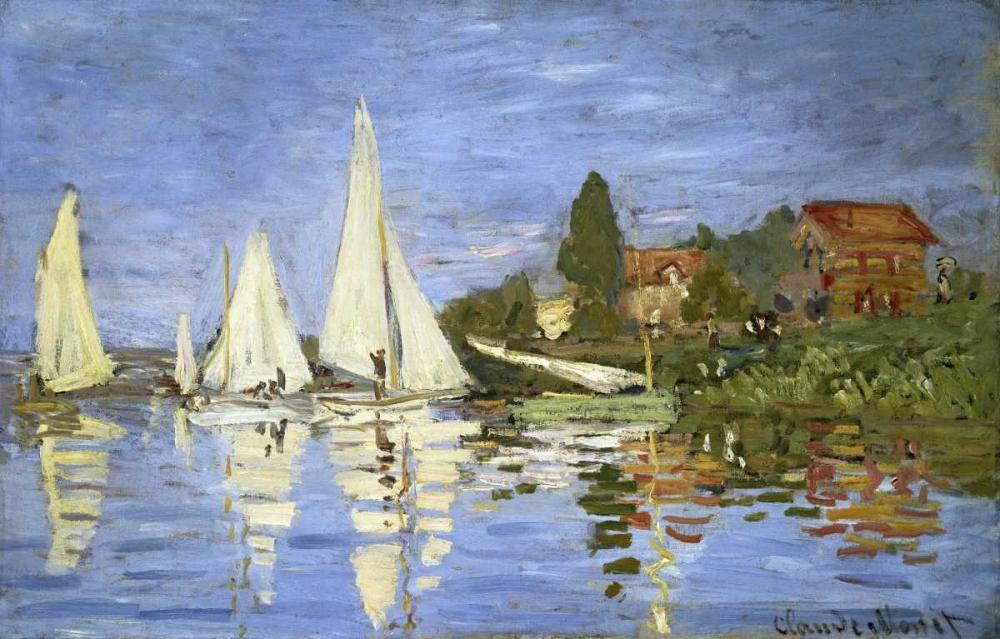Regatta at Argenteuil Monet, Claude 91341