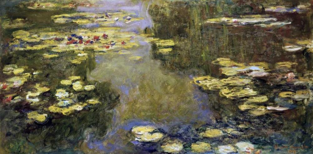 Water Lily Pond - Le Bassin aux nympheas Monet, Claude 91347