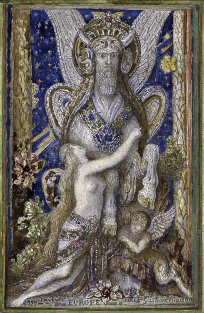 Europa Moreau, Gustave 91394