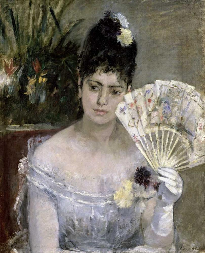 Young Lady at a Ball Morisot, Berthe 91400