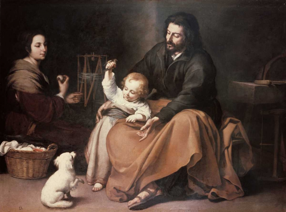 Holy Family With a Bird Murillo, Bartolome Esteban 91407