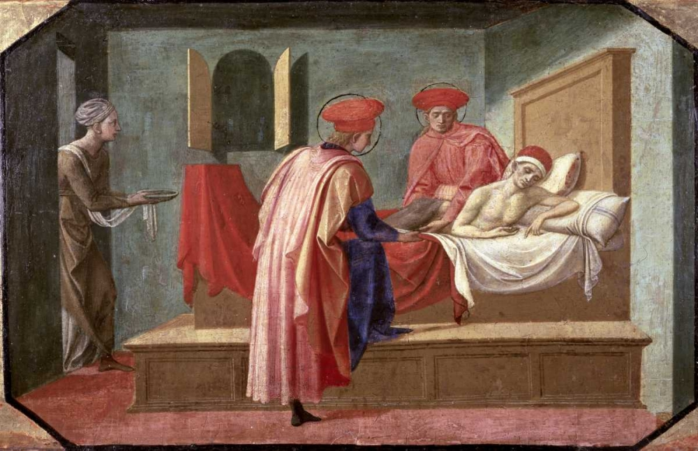 St. Cosmas and St. Damian Caring For a Patient Pesellino, Francesco 91422