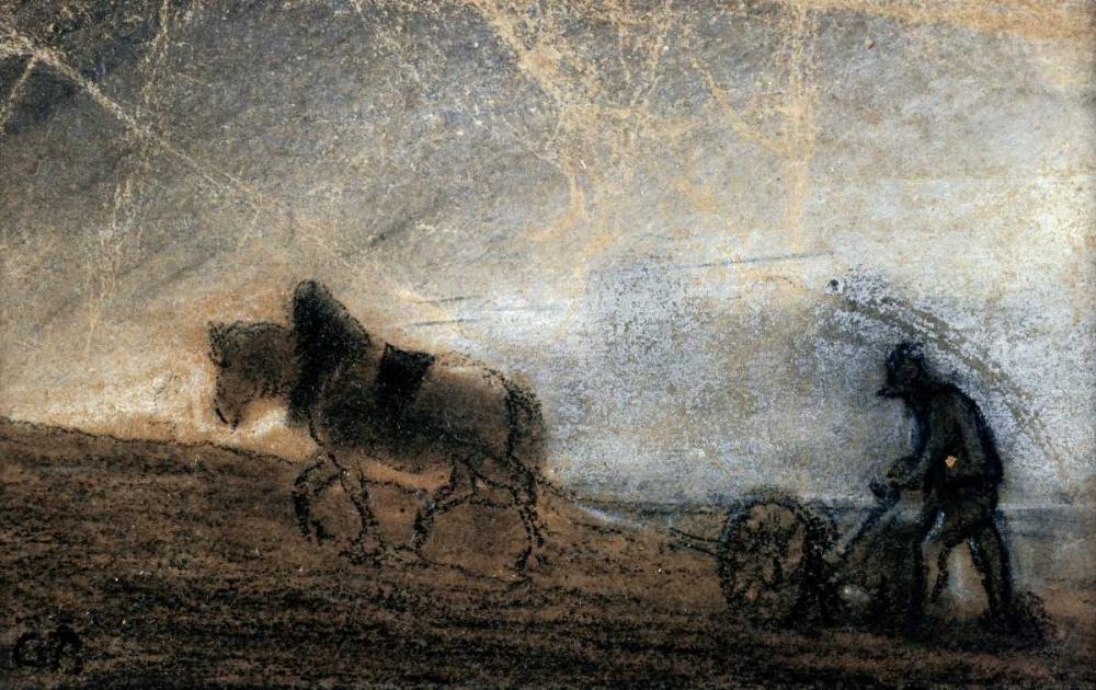 Plowman Pissarro, Camille 91433