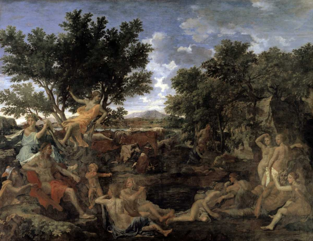Apollo and Daphne Poussin, Nicolas 91450