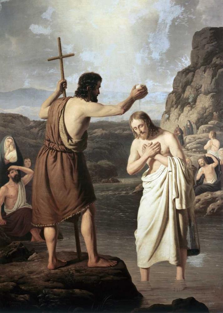 Baptism of Jesus Raadsig, Johan Peter 91457