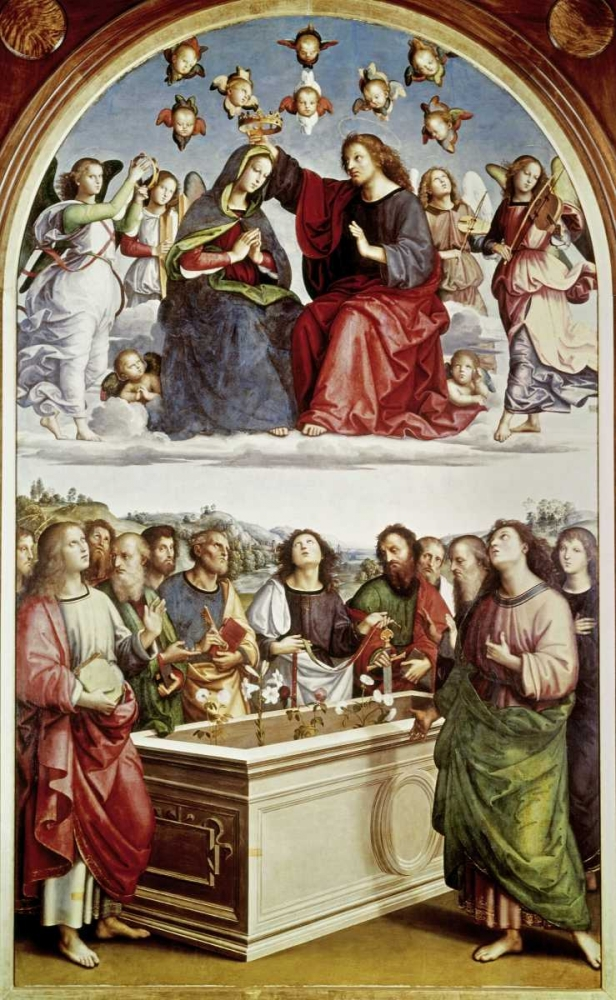 Coronation of The Virgin Raphael 91459