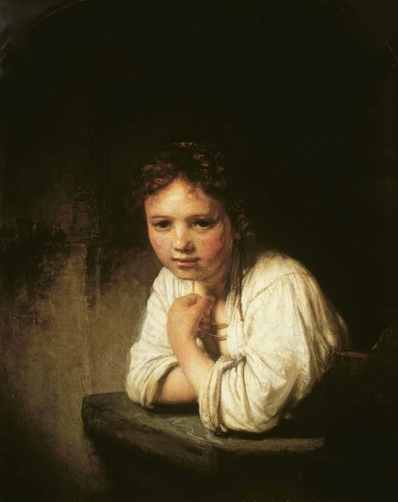 Girl at Window Van Rijn, Rembrandt 91493