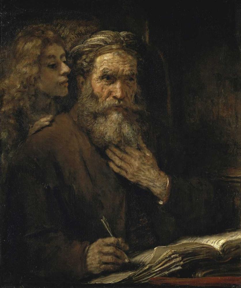Saint Matthew and The Angel Van Rijn, Rembrandt 91495