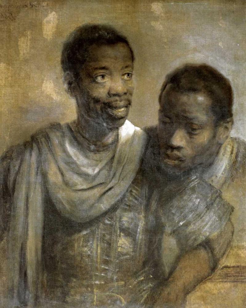 Two Black Men Van Rijn, Rembrandt 91497