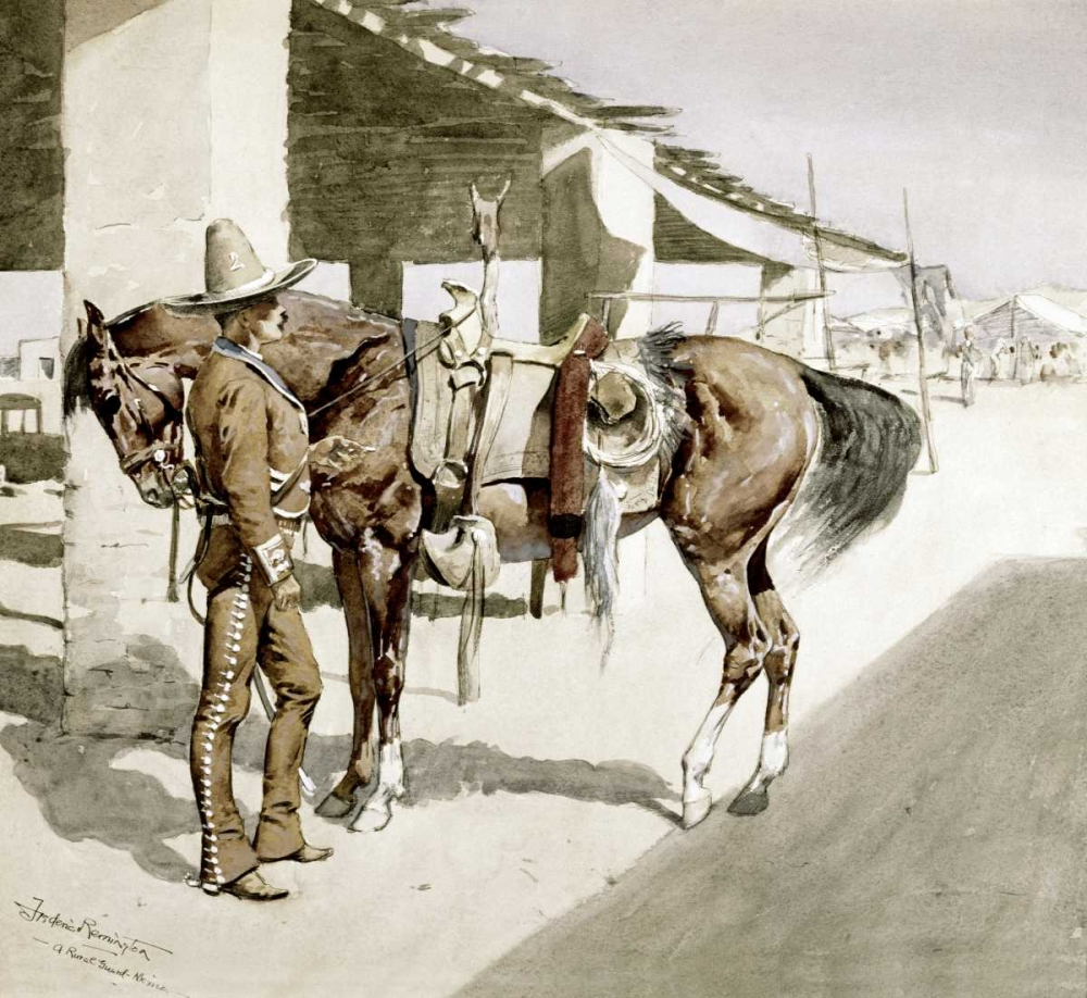 A Rural Guard - Mexico Remington, Frederic 91498