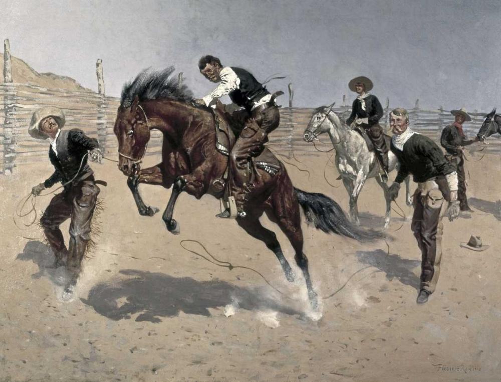 Turn Him Loose, Bill Remington, Frederic 91504