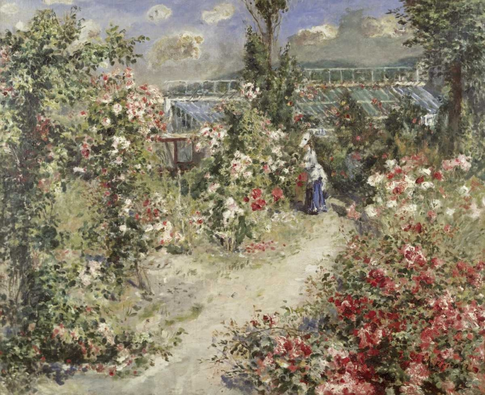 The Greenhouse Renoir, Pierre-Auguste 91530
