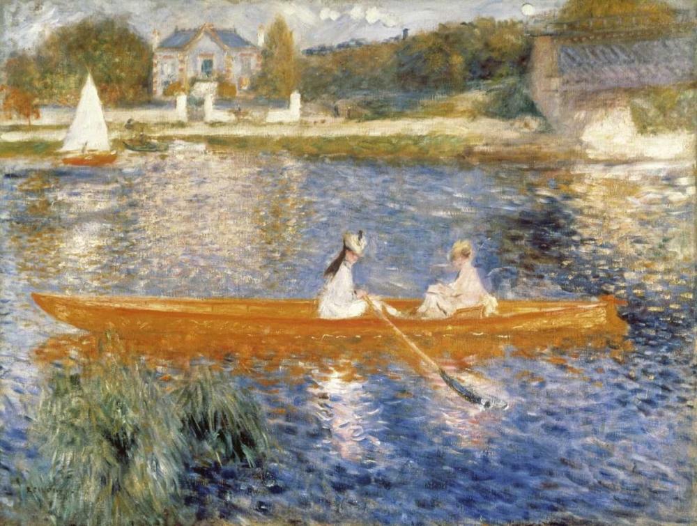 The Seine at Asnieres Renoir, Pierre-Auguste 91533