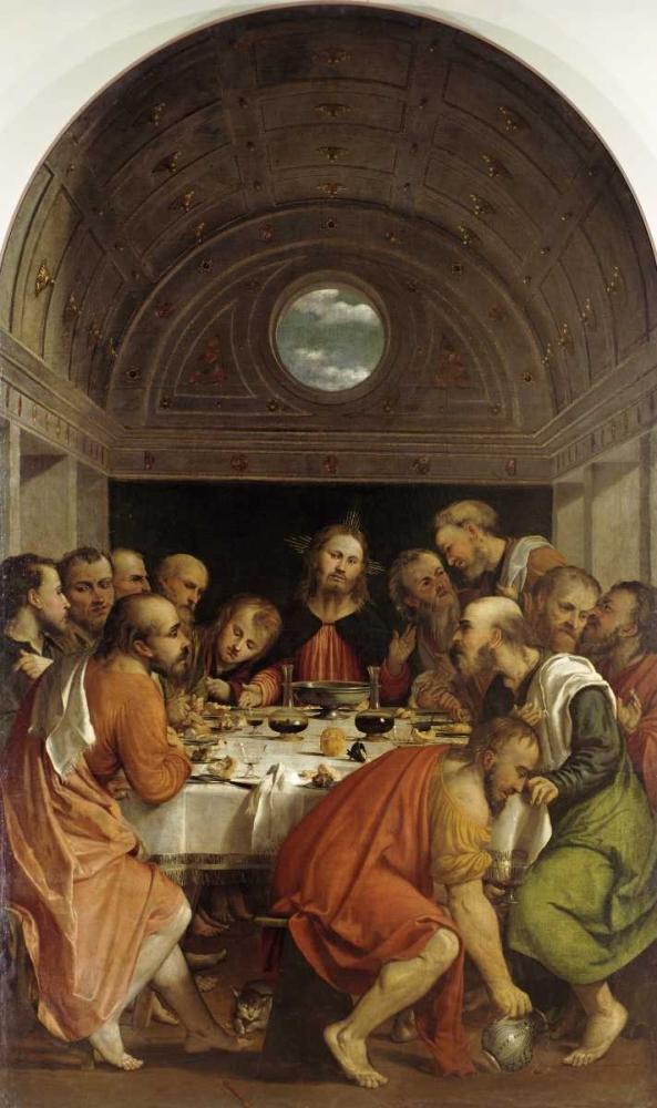 Last Supper Romanino 91549