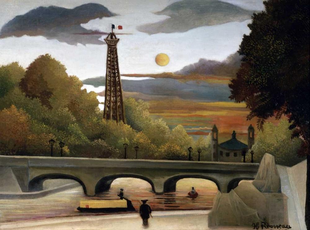 The Eiffel Tower Rousseau, Henri 91557