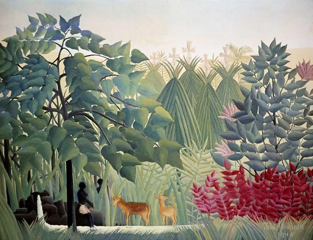The Waterfall Rousseau, Henri 91561
