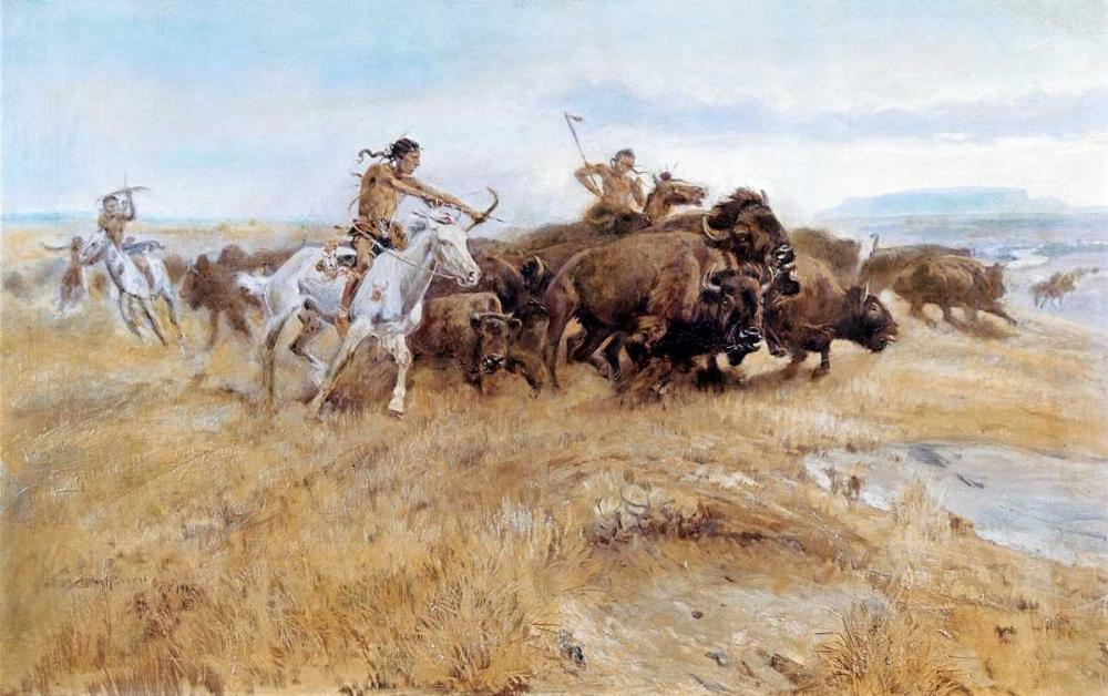 Buffalo Hunt Russell, Charles M. 91576