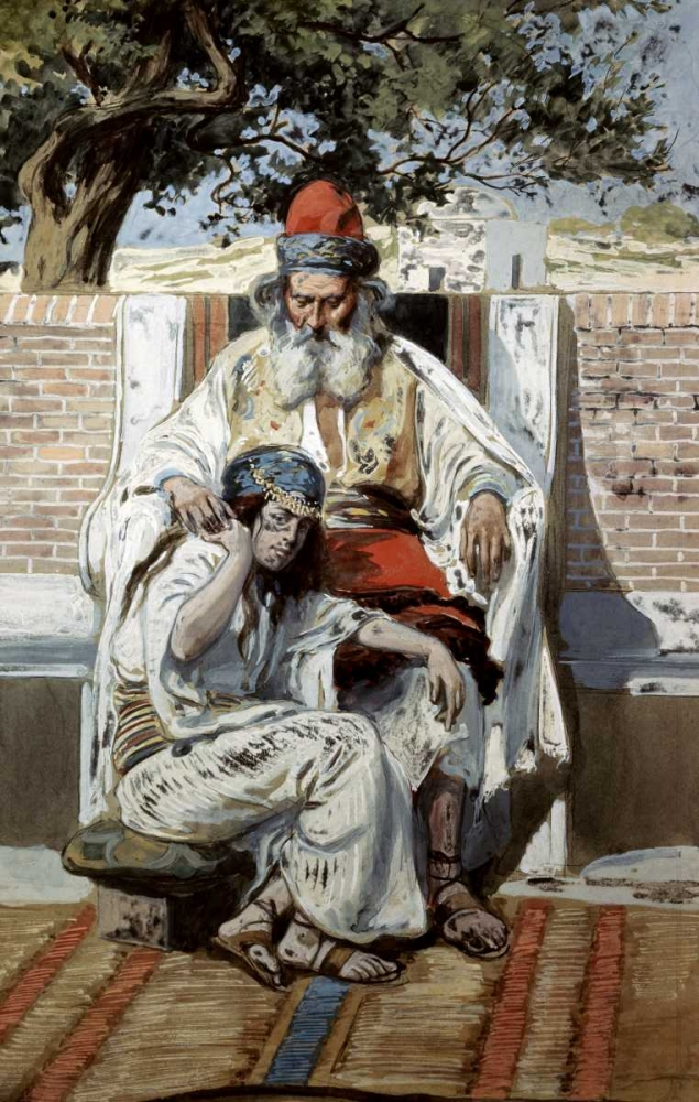 David and Abishag Tissot, James Jacques 91634