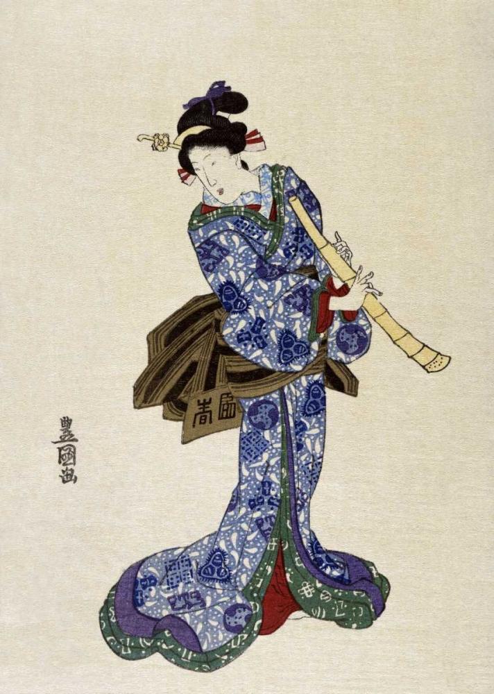 Shakuhachi Toyokuni, Utagawa 91694