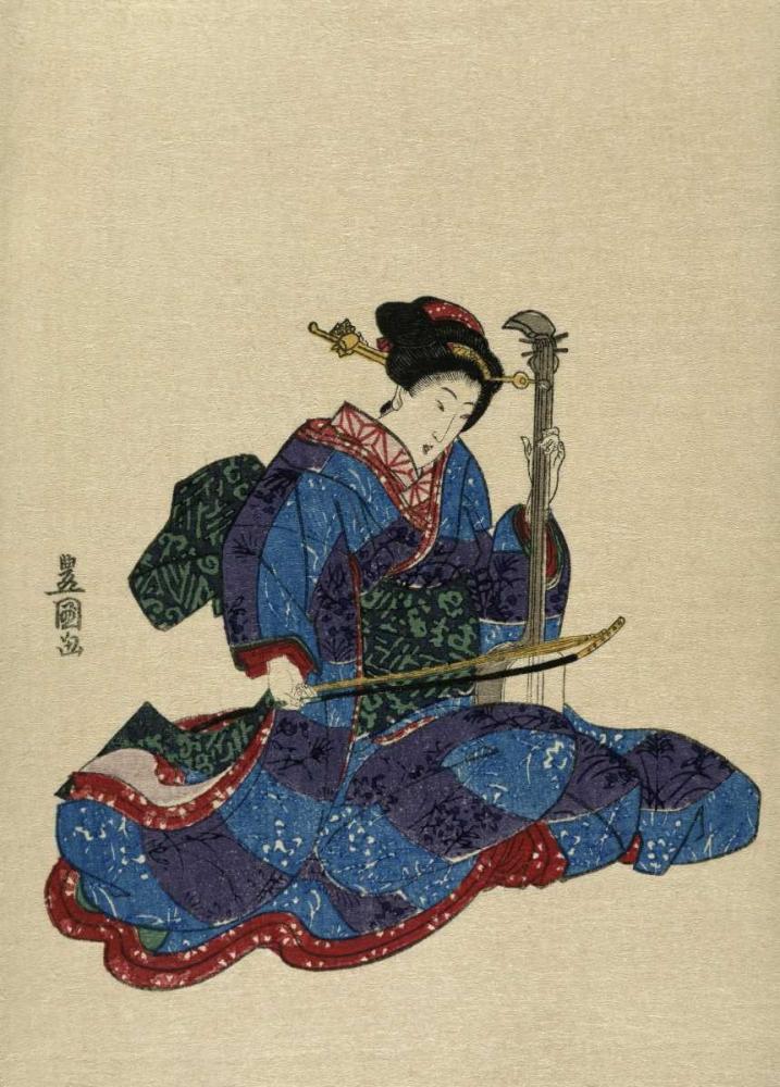 Shamisen I Toyokuni, Utagawa 91695