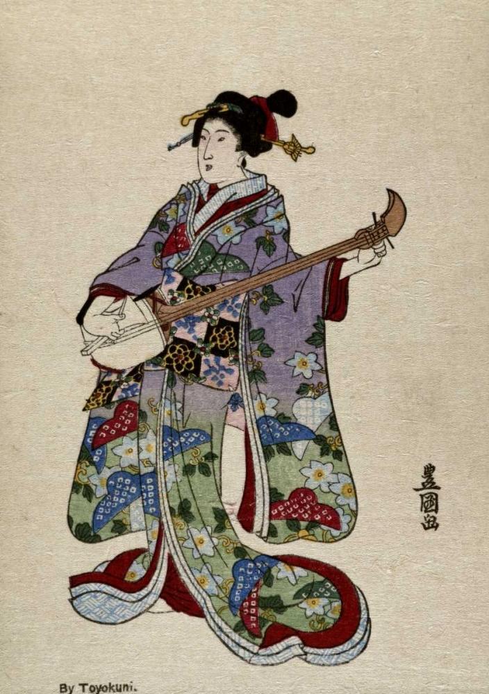 Shamisen II Toyokuni, Utagawa 91696