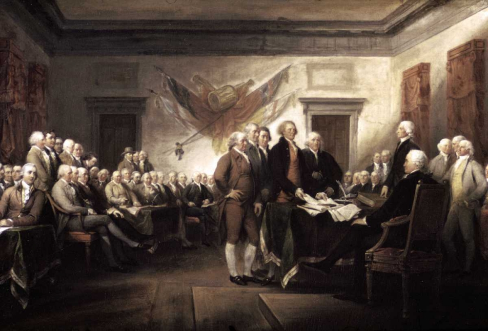 Signing of The Declaration of Independence, 1817-1819 Trumbull, John 91699