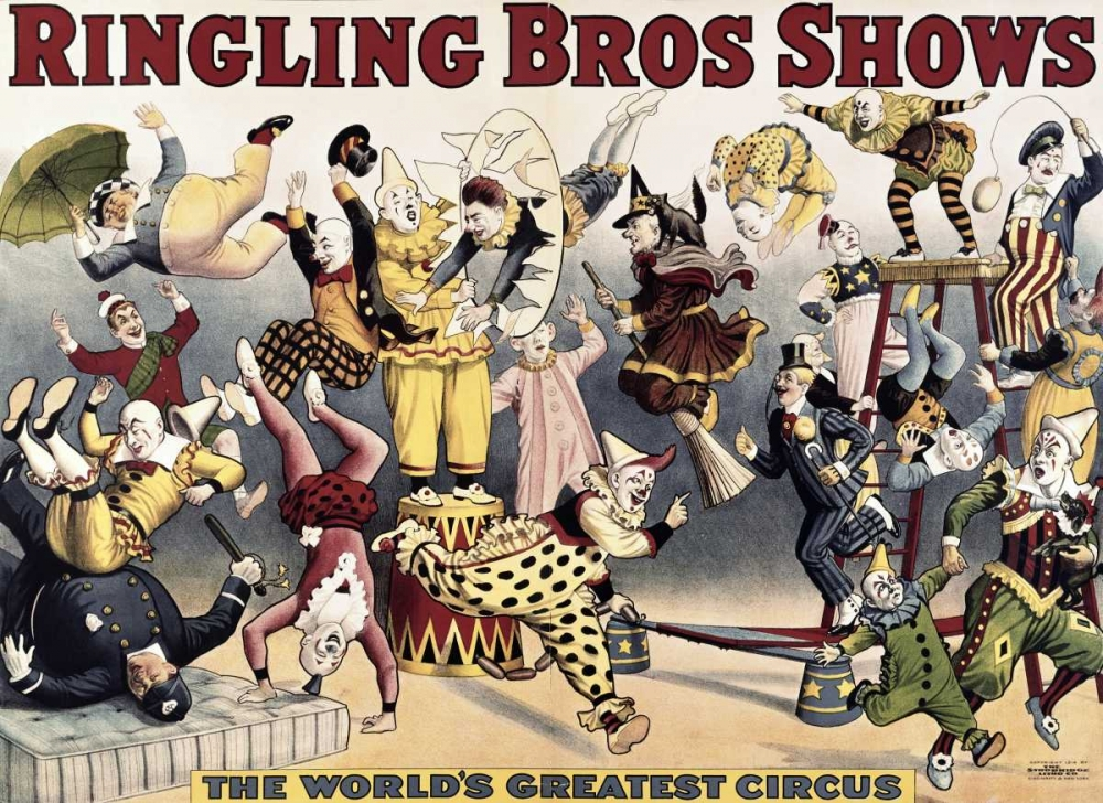 Ringling Bros. Shows Unknown 91727