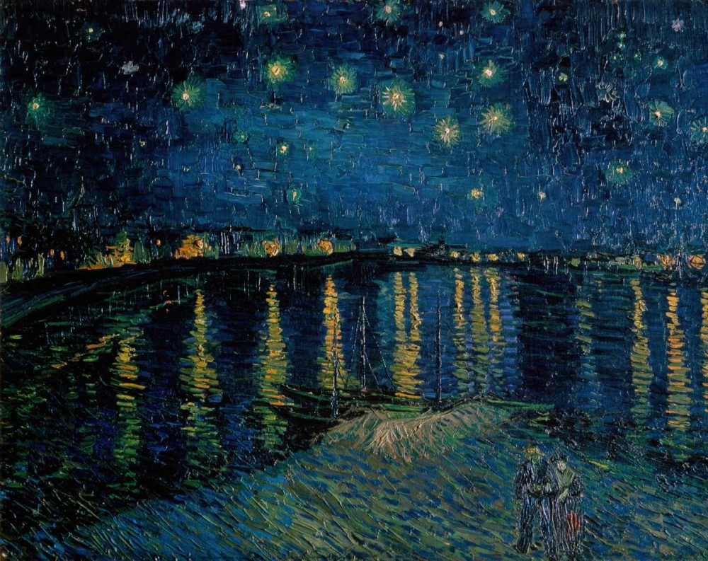 Starlight Over the Rhone Van Gogh, Vincent 91770