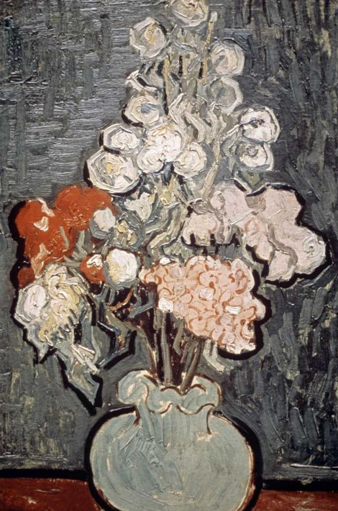 Still Life: Vase With Rose-Mallows Van Gogh, Vincent 91772