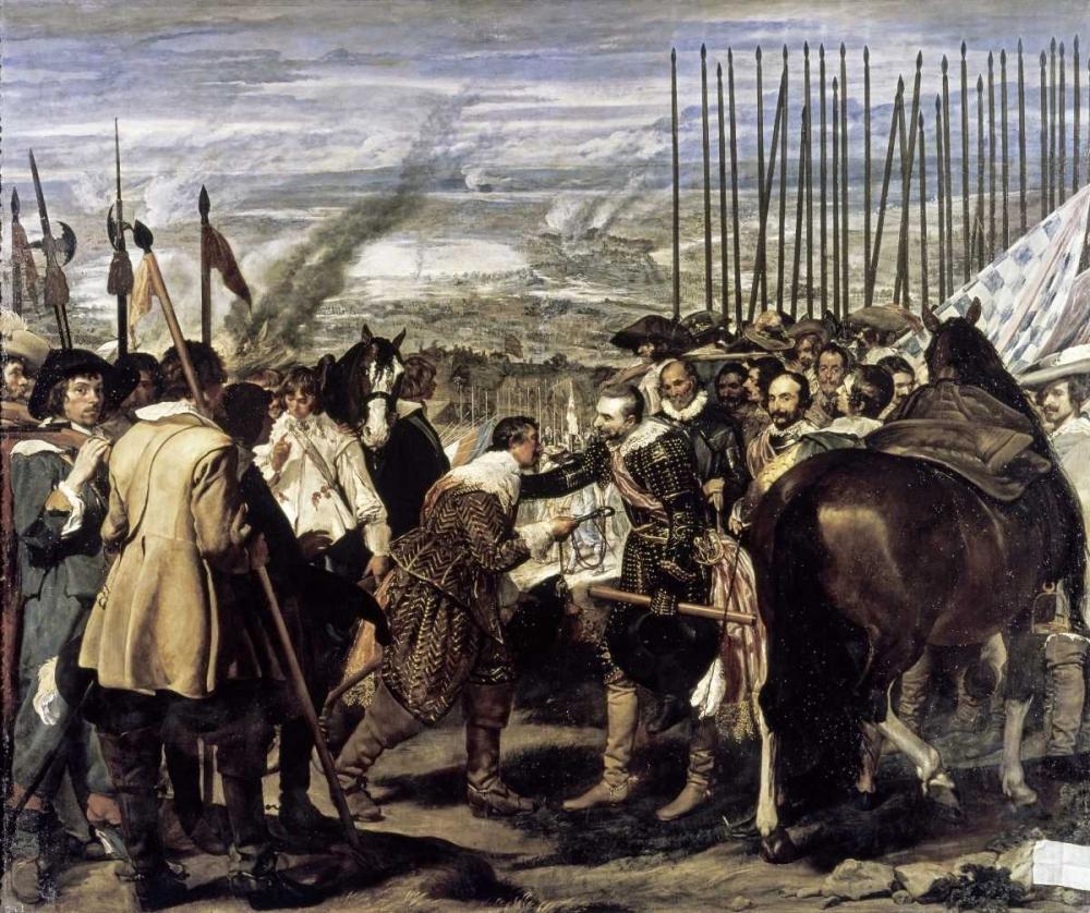 Surrender of Breda - The Spears Velazquez, Diego 91794