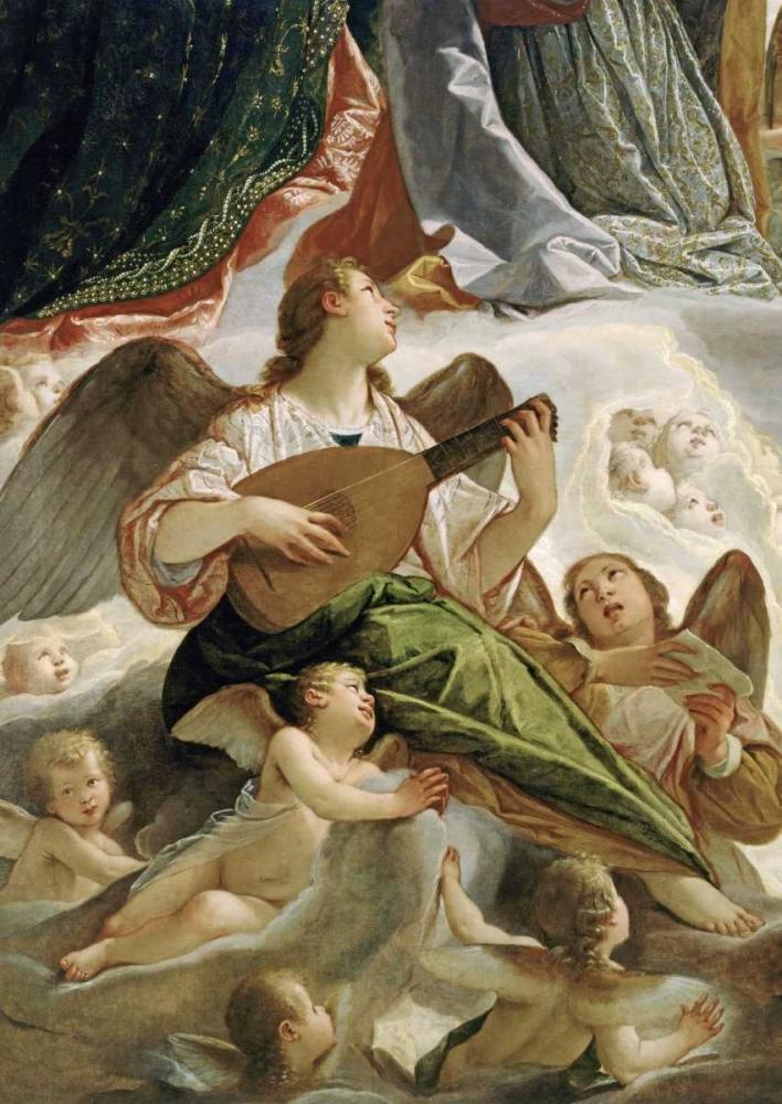 Trinity With Saints Ursula and Margaret-Detail Vianino, Antonio Maria 91806