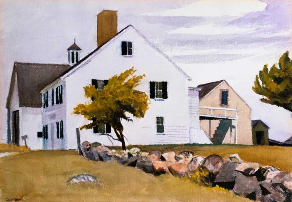 House at Essex, Massachusetts Hopper, Edward 91832