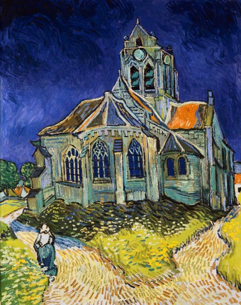 The Church at Auvers Van Gogh, Vincent 91838
