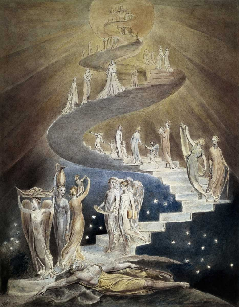 Jacobs Ladder Blake, William 91860