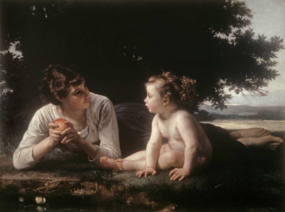 Mother and Child - II Bouguereau, William-Adolphe 91880