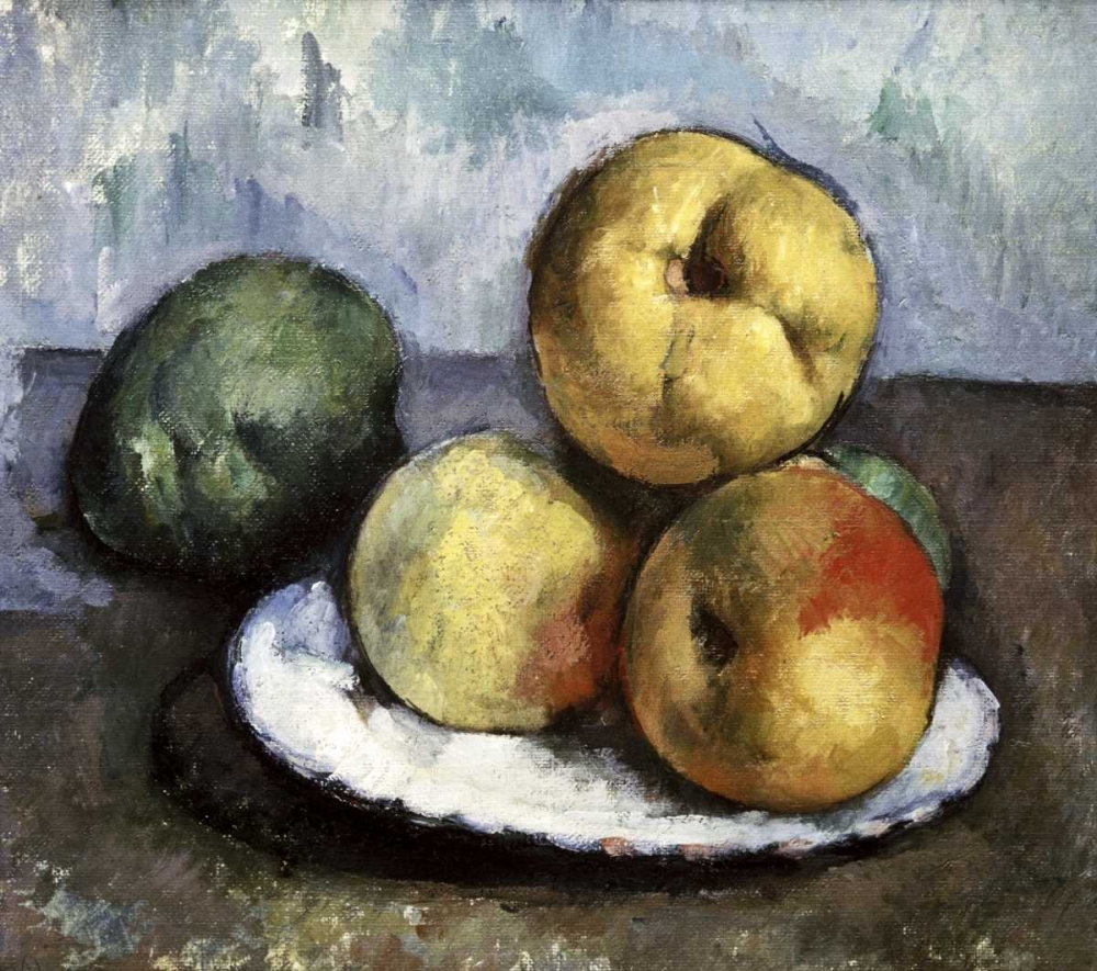 Still Life with Apples and Peaches Cezanne, Paul 91912