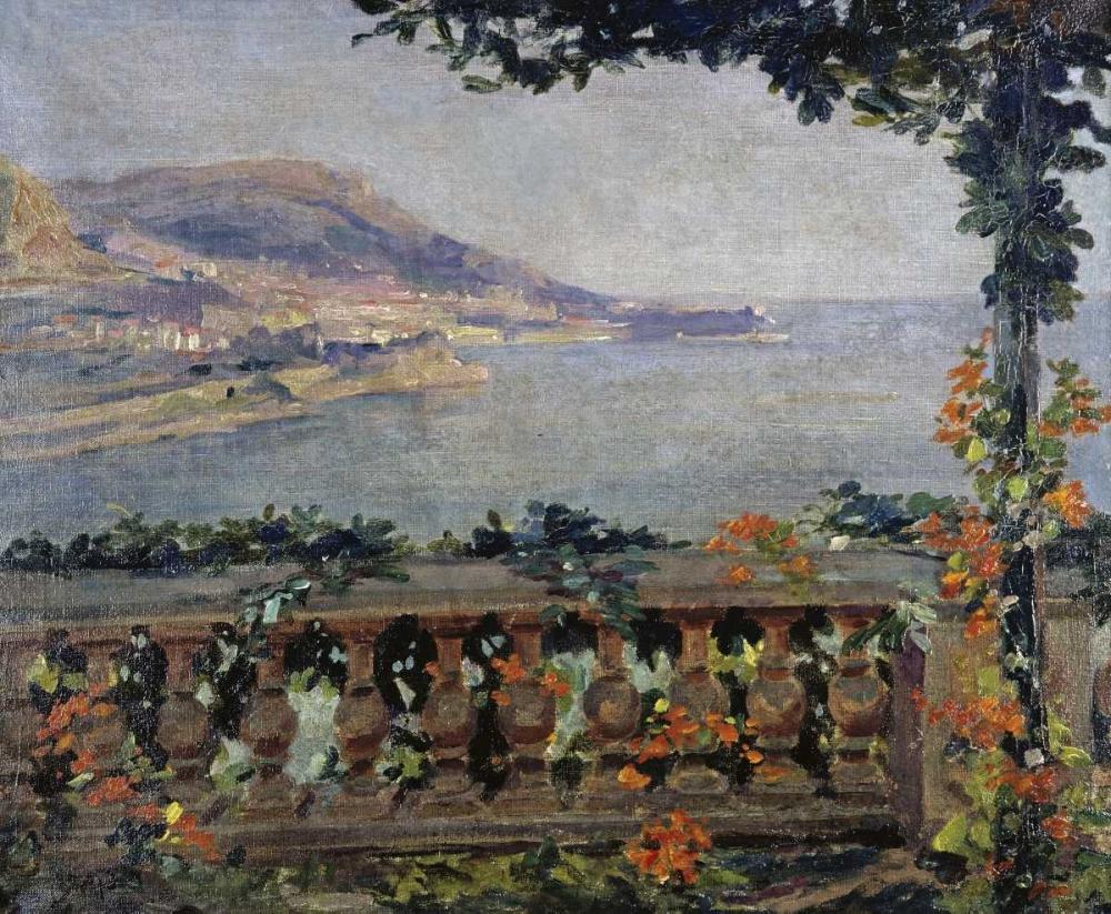 Monaco: Vue sur la Mer Ciardi, Gugliemo 91928