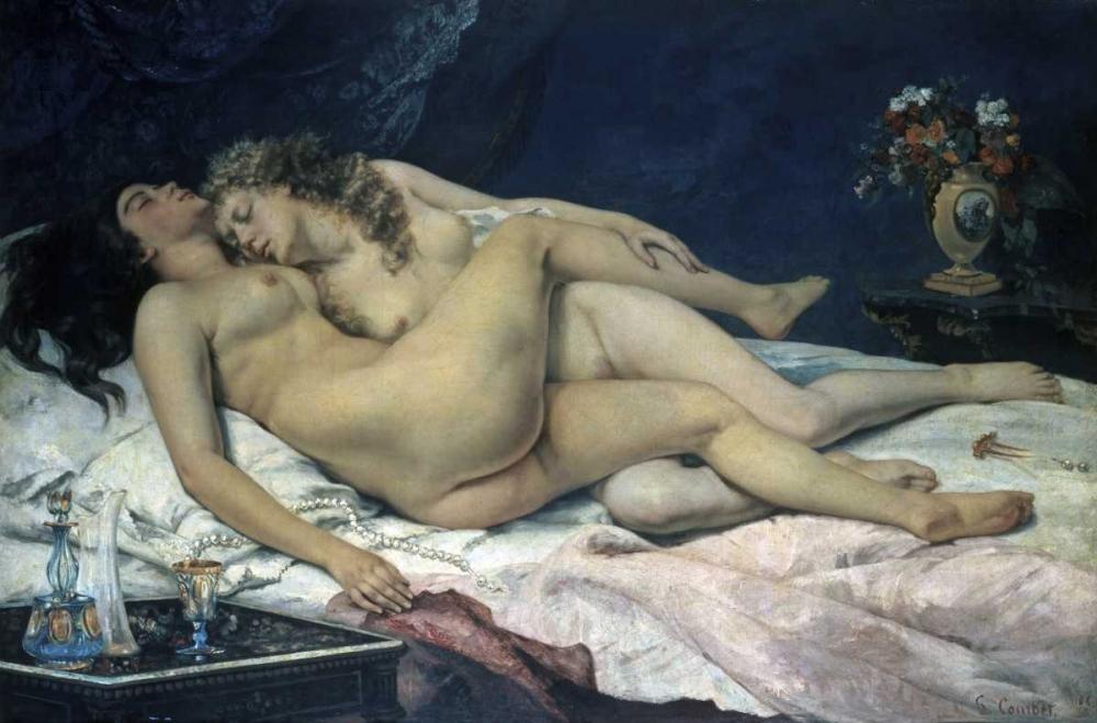 Sleep Courbet, Gustave 91935