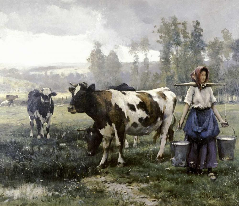 The Milkmaid Dupre, Julien 91968