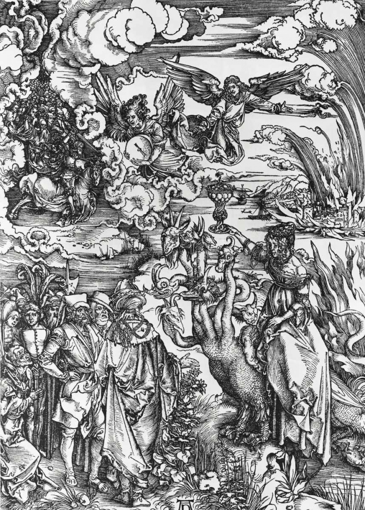 The Beast With Two Horns Like a Lamb Durer, Albrecht 91971